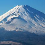 神奈川県箱根芦ノ湖スカイラインからの富士山