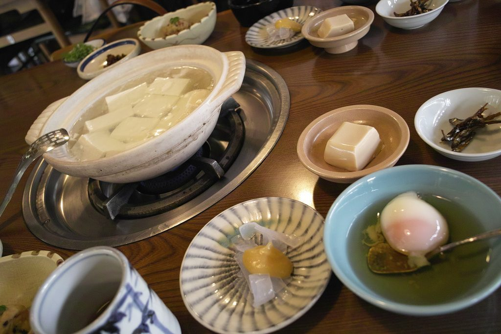嵯峨野湯豆腐