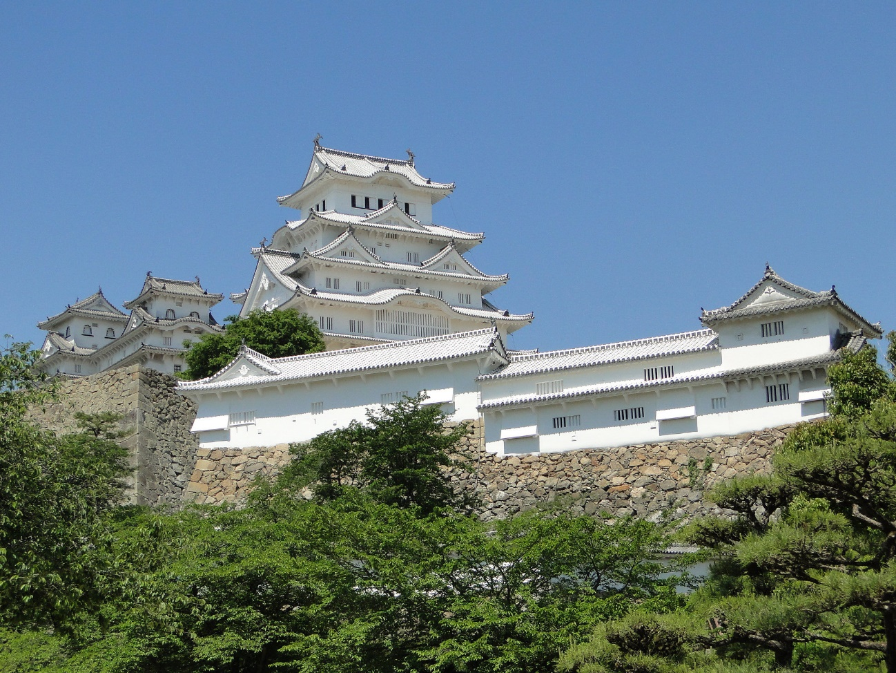 Sannomaru (bailey) in Himeji Castle