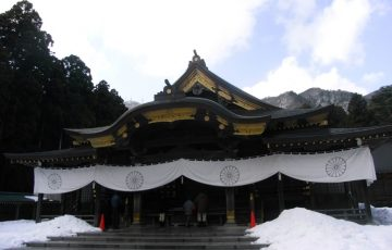 ケータイ国盗り・天狗修行:弥彦神社