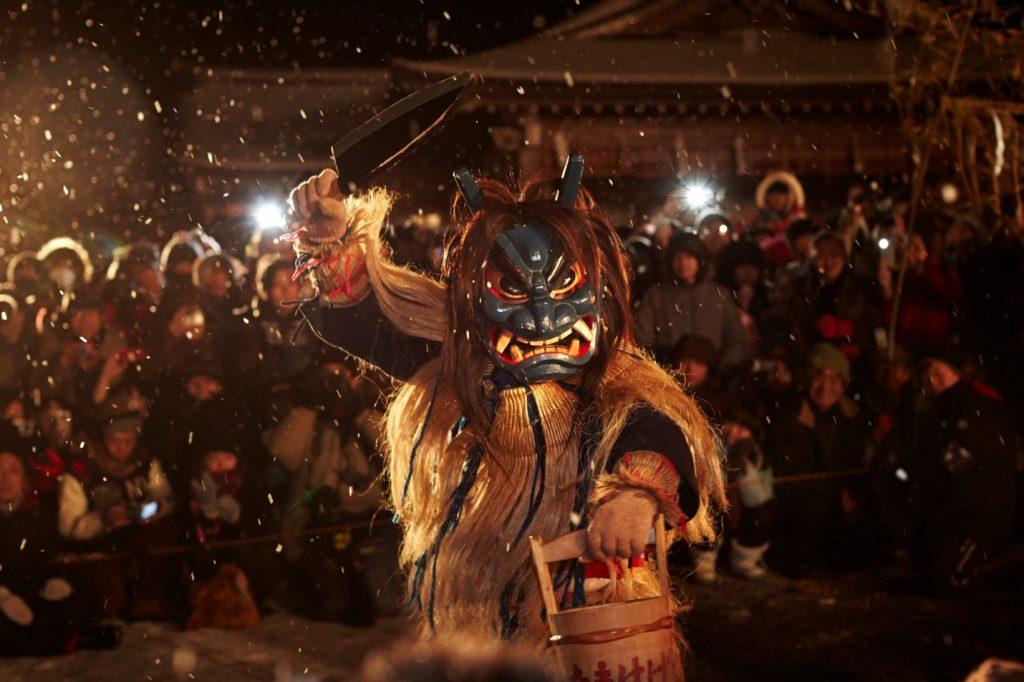 Namahage Shiba Light Festival
