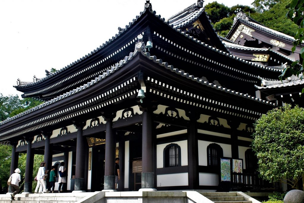 長谷寺の上境内