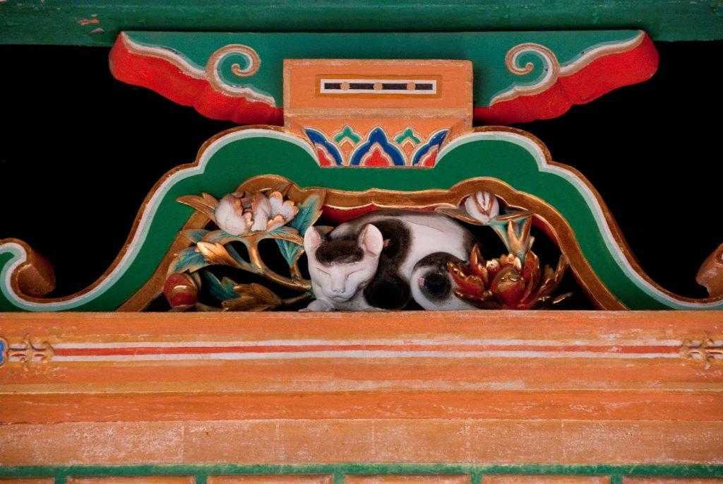 日光 東照宮 眠り猫