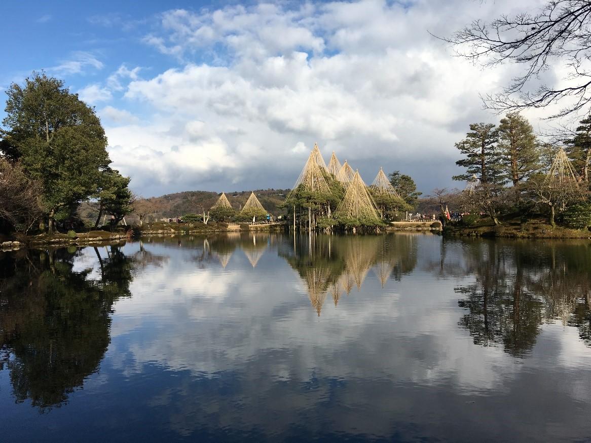 日本三名園の一つ、魅力いっぱいの兼六園を観光しよう!!