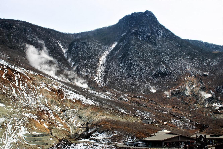 箱根の山の全エネルギーは大涌谷にあり